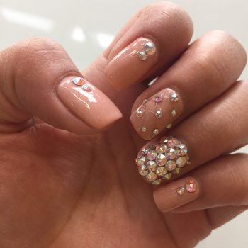 blinged-out nails